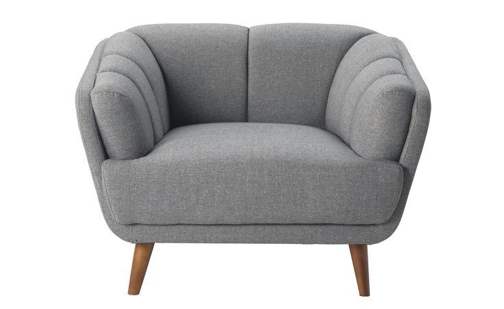 Le 25 migliori idee su tessuto grigio su pinterest - Poltrona letto conforama ...
