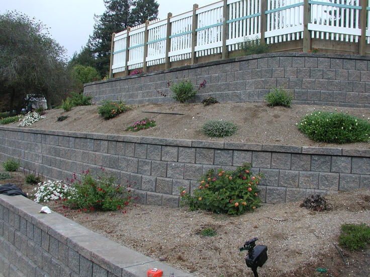Nice terraced wall yard makeovers pinterest for Grand designs garden
