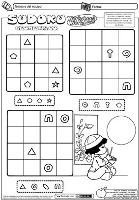 Sudoku de formas