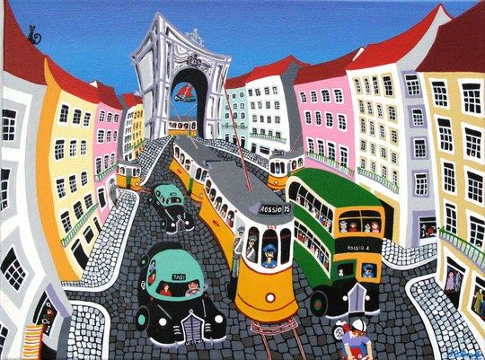 Lisboa, Rua Augusta.