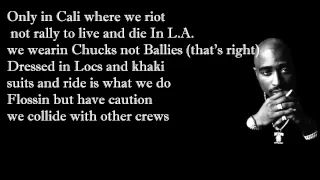 2pac feat. Dr. Dre - California Love with Lyrics [Explict] - YouTube