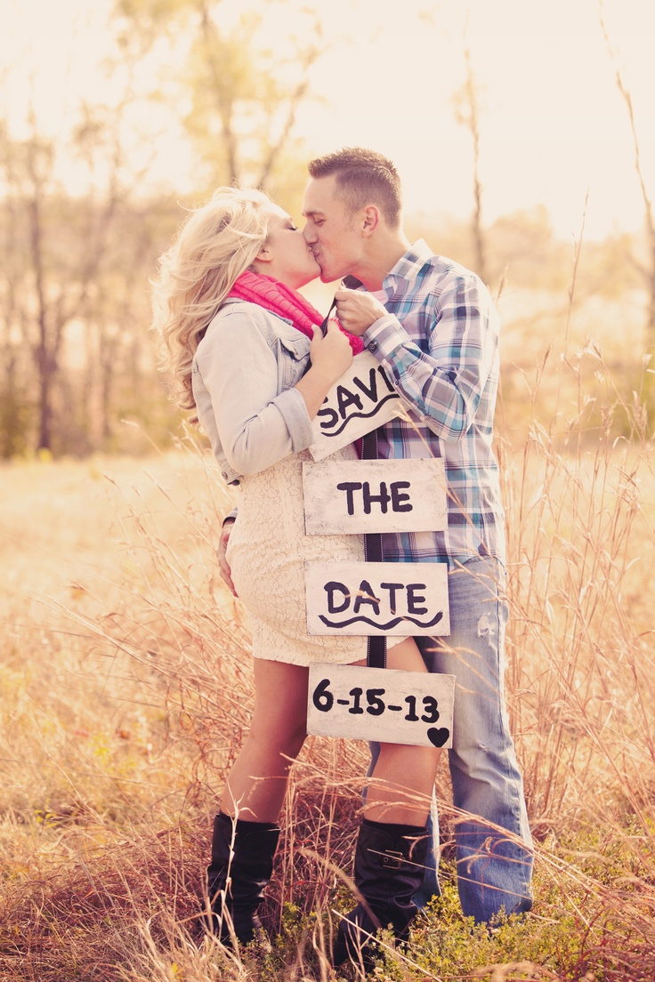 Another cute 'Save the Date' idea! Photo by Ashley B. #WeddingPhotographersMN