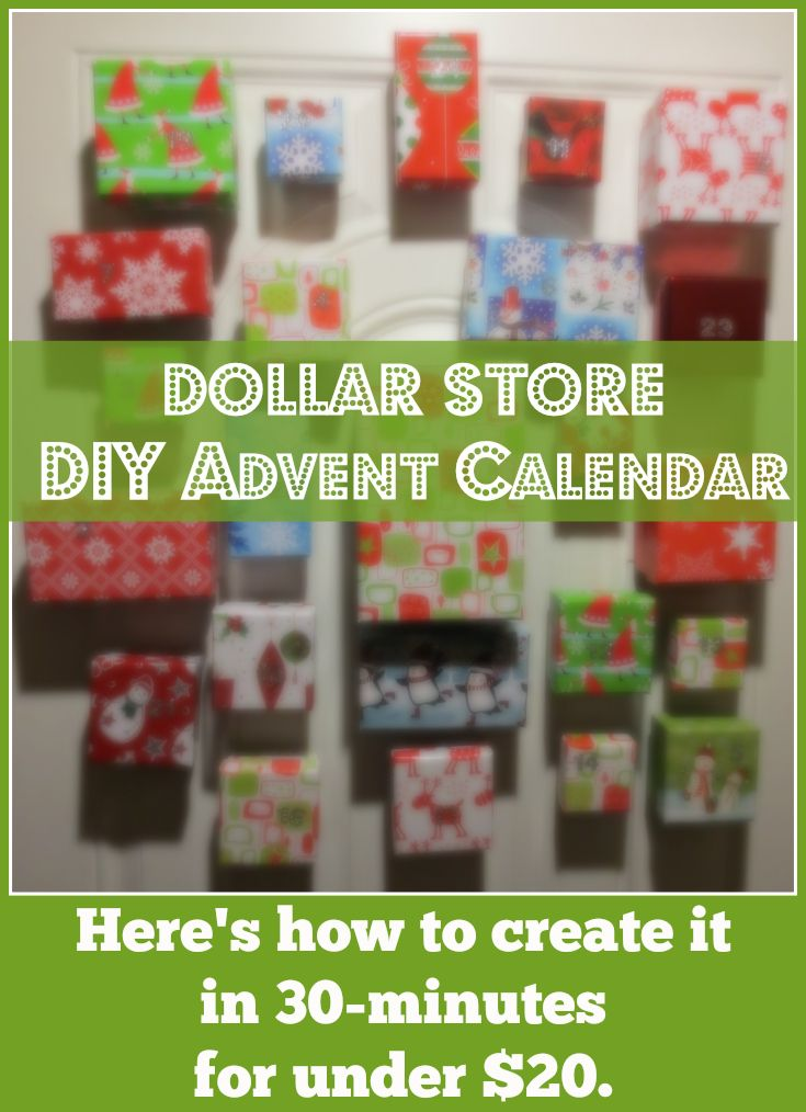 Diy Calendar For Him : Get creative diy magnetic advent calendar make it in