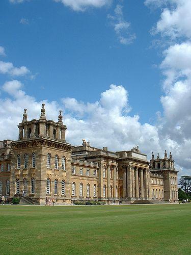 Across the lawns, Blenhiem Palace, Oxfordshire