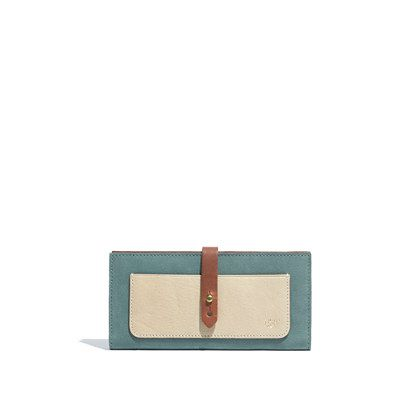 // <3 //  The Checkbook Wallet in Colorblock