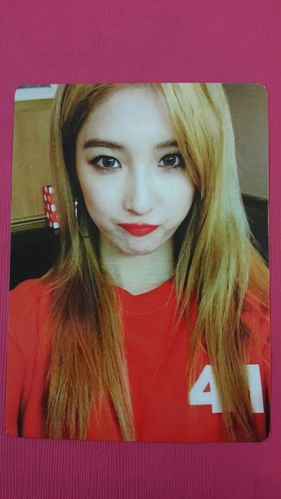 4MINUTE JIHYUN Official Photo Card 7th Album [ACT. 7] 싫어 Photocard 지현