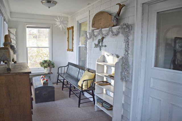 Heir And Space Cottage Christmas Decor Porches Amp Decks