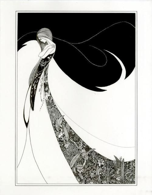 Aubrey Beardsley, one of the main proponents of the Art Nouveau movement. Check this artist out