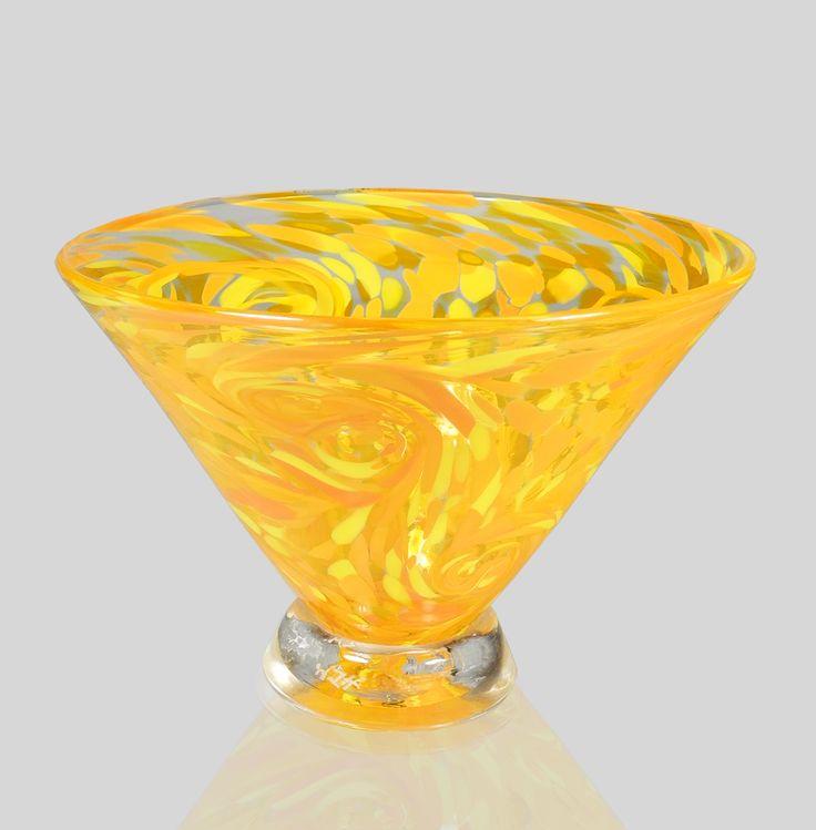 Orange Starry Bowl