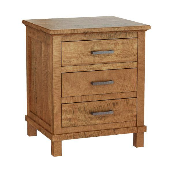 Sydney Solid Wood Bedside Tables Hardwood Mango Wooden
