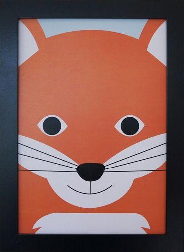 Priint Fox. Design Sara Vestberg