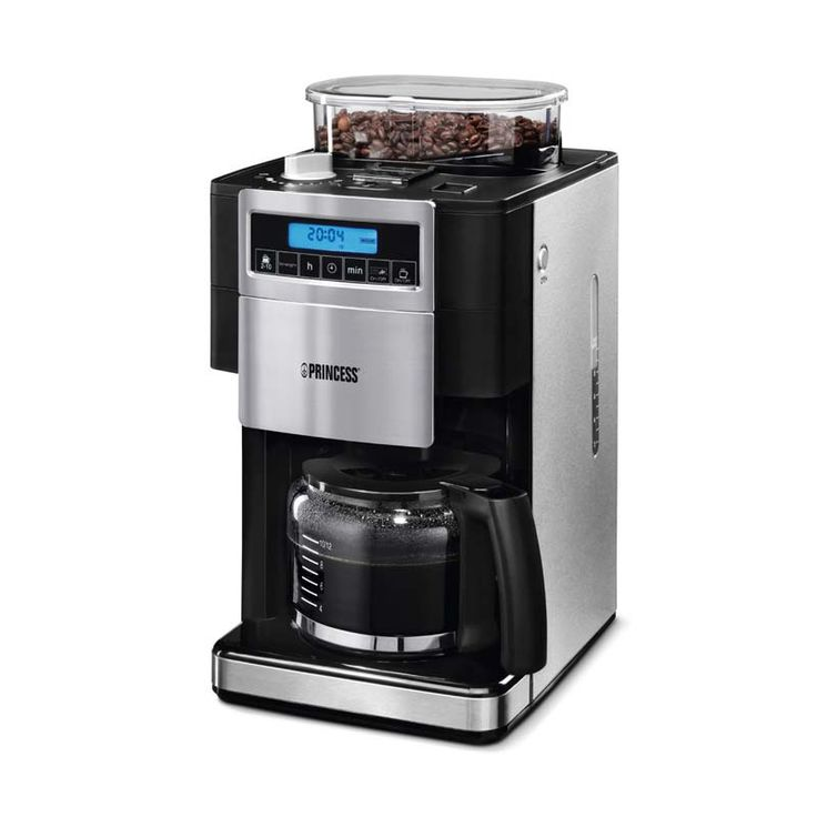 Coffee Makers with Grinder for Simplicity of Life : Princess Great Coffee Maker With Grinder