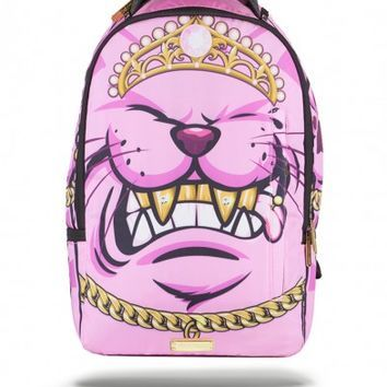 Kitten Grillz X Cupcake Mafia Backpack | Sprayground Backpacks, Bags, and Accessories