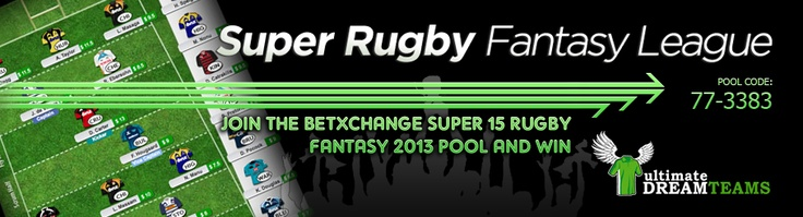 The Super Rugby XV Fantasy League Pool