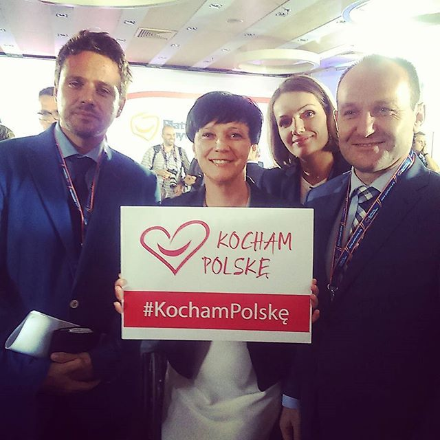 Rafał Trzaskowski, Dorota Niedziela, Jagna Marczułajtis, Marek Sowa wspierają akcję #KochamPolskę  #Radakrajowa #PlatformaObywatelska #PO #Warszawa #Warsaw #Polska