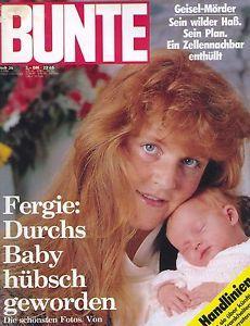 BUNTE-09-01-1988-FERGIE-DUCHESS-OF-YORK-PRINCE-ANDREW