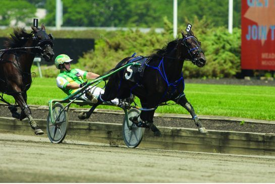Put On A Show - Fastest female harness racing horse in history, won the 2012 Lady Liberty in a world record of 1:47.3 with Jody Jamieson driving