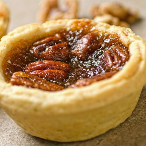 Easy homemade Pecan Butter Tarts. A miniature version of the pie!