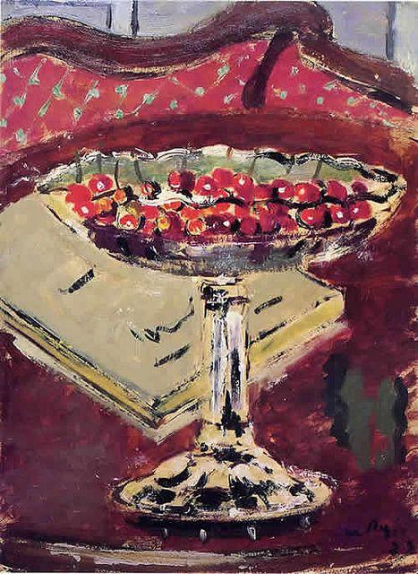 De Pisis, Filippo (1896-1956) - 1927 Cherries (Art Museum of the City of Ravenna, Italy)