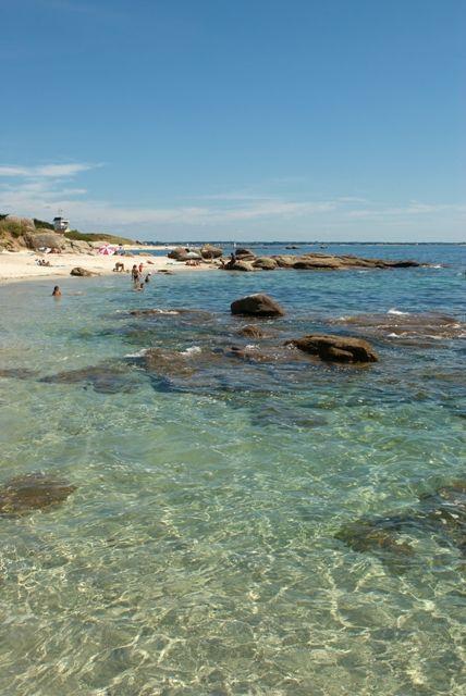 Top ten beaches, Kermyl, Beg-Meil, France