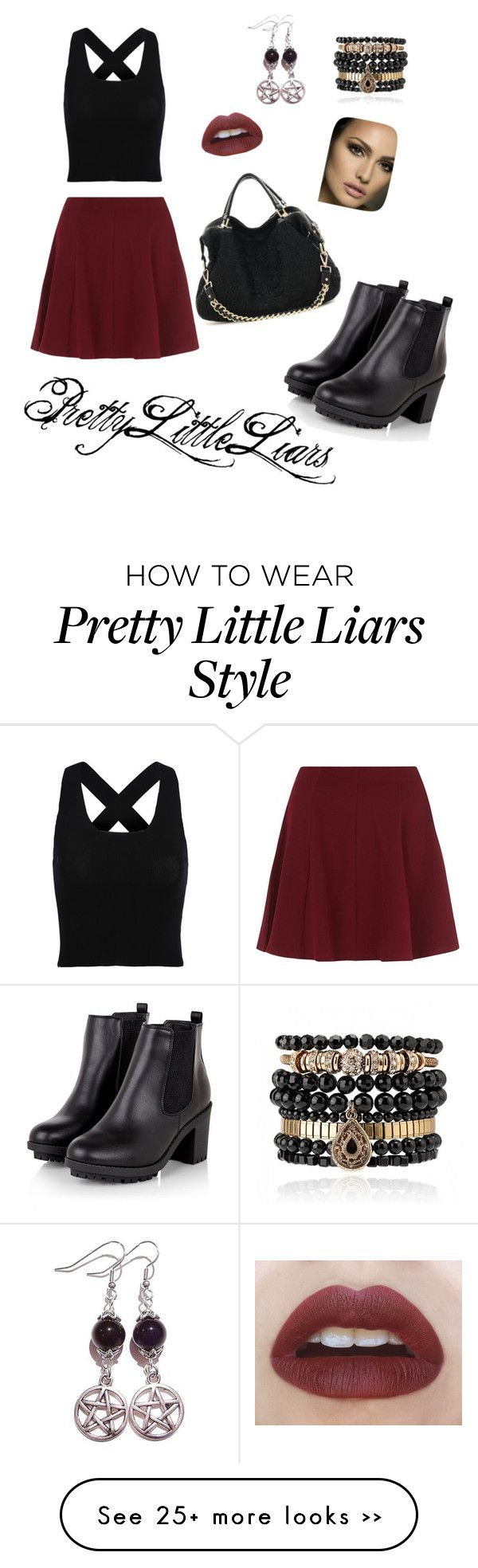 """""""Pretty Little Liars Aria Montgomery inspired"""" by chxlseaa on Polyvore featuring Samantha Wills"""
