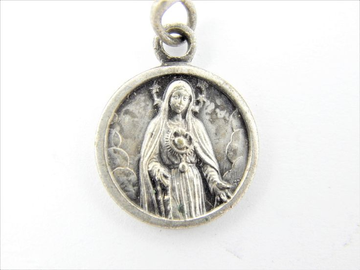 2344 best images about Vintage and Antique Catholic Medals on ...