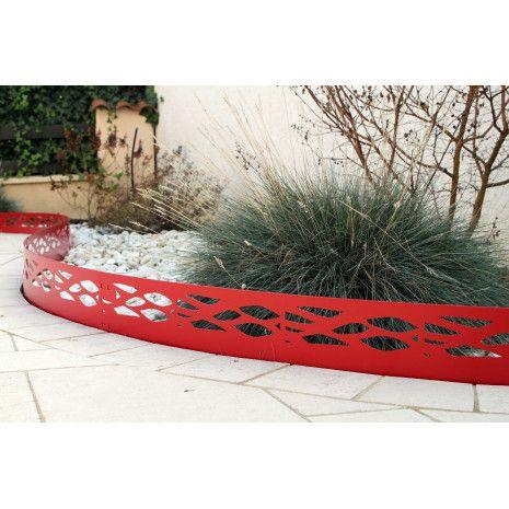 33 best sp cial bordure de jardin images on pinterest seasons steel and metal garden edging. Black Bedroom Furniture Sets. Home Design Ideas