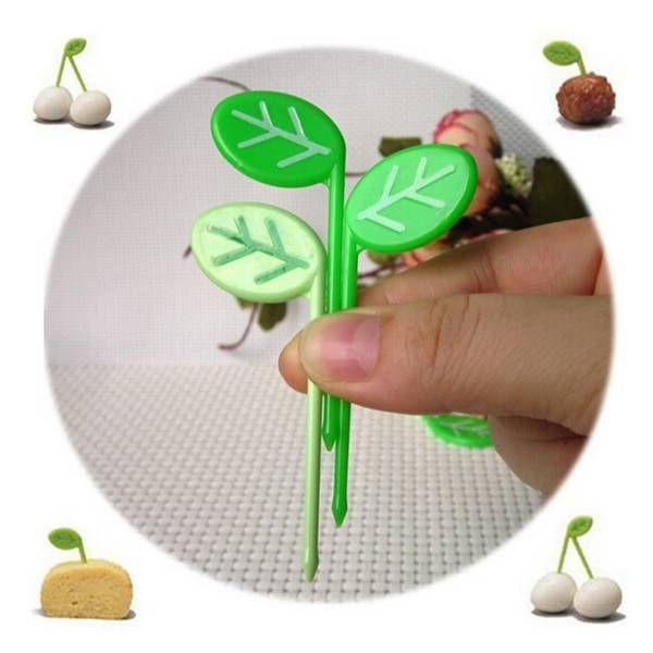 Fruitprikkers Groene Bladeren 10 stuks I MyXLshop (SuperTip)