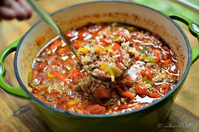 Canning Granny: Soup of the Day... UnStuffed Pepper Soup