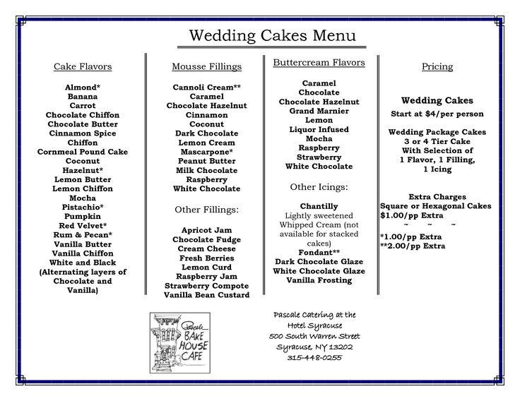 Wedding Cake Flavors With Wedding Cake Flavors Step By