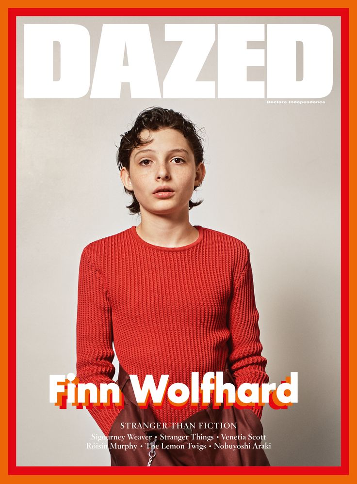 Finn Wolfhard fronts the Stranger Things special issue of Dazed, Winter 2016. Photography Collier Schorr Fashion Robbie Spencer All clothes Balenciaga