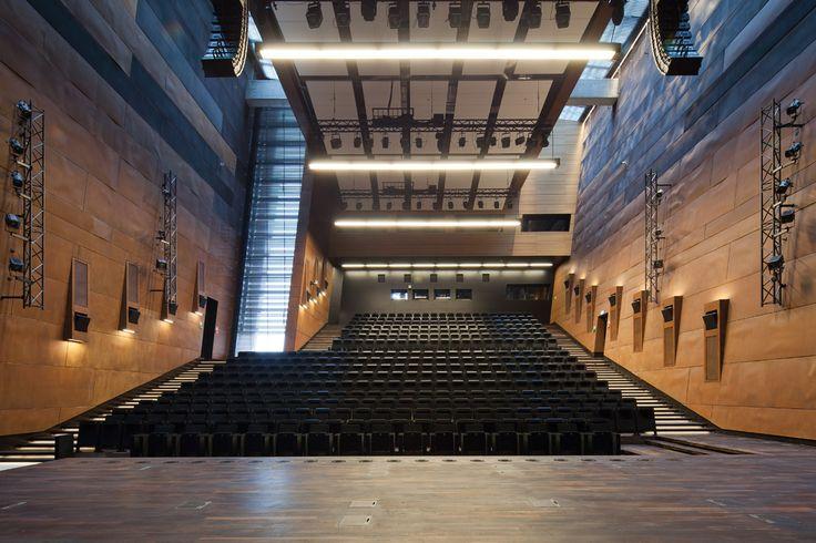 European Solidarity Centre in Gdańsk. Auditiorium Hall | Poland © Piotr Krajewski pkrajewski.pl