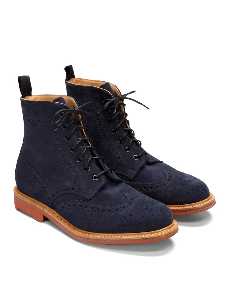 Mark McNairy Country Brogue Boots for Men