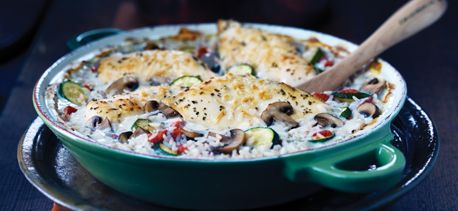 Italiano Chicken and Rice Bake and more Remarkable Rice Dishes