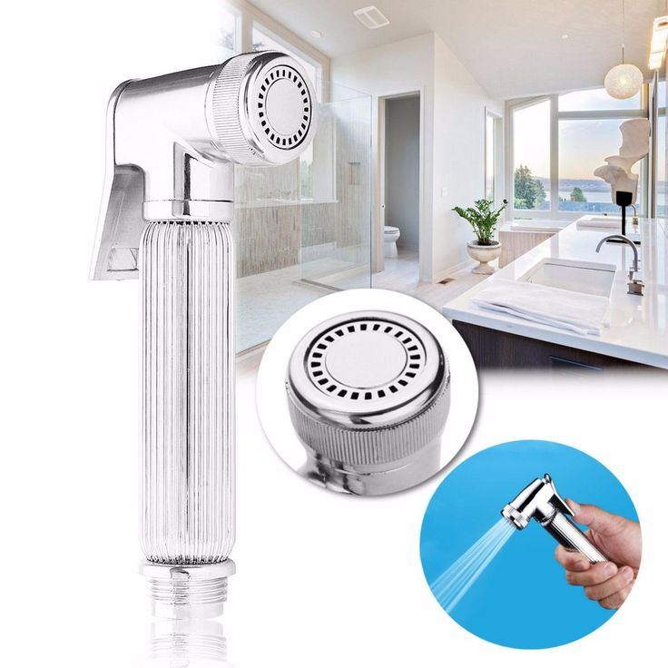 G1/2 Chrome Multifunction Hand-held Shower Head #ShowerHeads