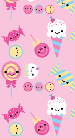 """Des glaces, des bonbons, des sucettes""""lollipops"""", des biscuits..."""