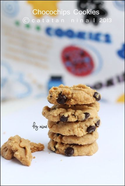 Catatan Nina: CHOCOCHIPS COOKIES (PART 2)