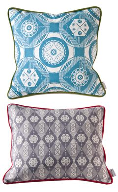 Parterre & Hanbury Cushions | Plot to Plate | Kate Farley