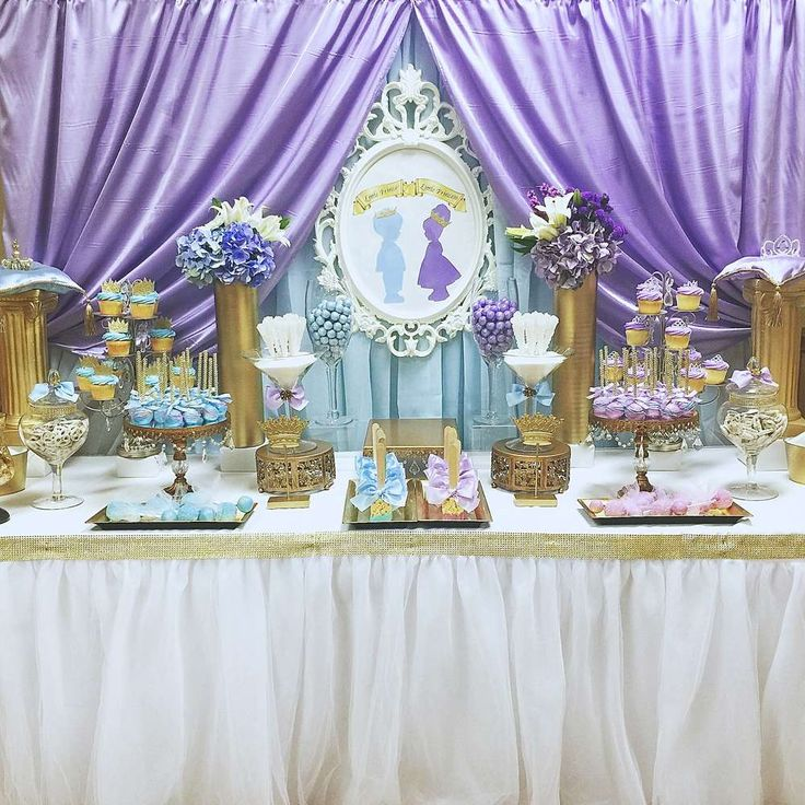 Royal Prince And Princess Baby Shower Baby Shower Party Ideas