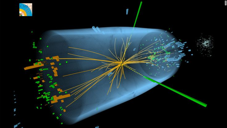 """DARK MATTER:Three years ago, scientists in Geneva, Switzerland, announced they had proved the existence of the so-called """"God particle"""" known as Higgs boson -- a never-before-seen subatomic particle long thought to be a fundamental building block of the universe. This year, researchers from two different teams combined their measurements of the particle, providing an unprecedented picture of Higgs boson's production, decay and interaction with other particles. Click through the gallery for…"""