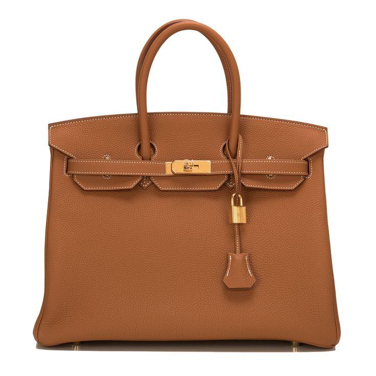 #Hermes Birkin #Bag Gold Togo Gold Hardware