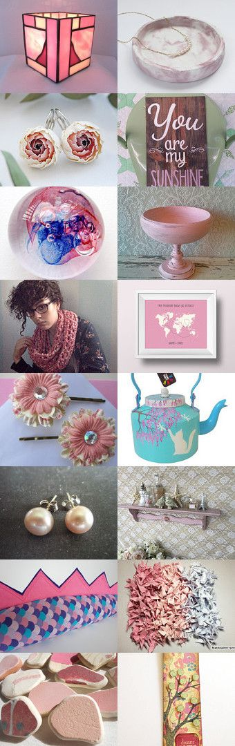 For the Love of Pink IV by Heidy on Etsy--Pinned with TreasuryPin.com