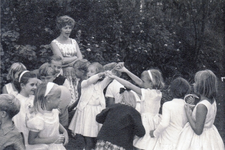 Sharon's Sunlit Memories: Birthday Thoughts - Do you remember the Oranges and Lemons game?