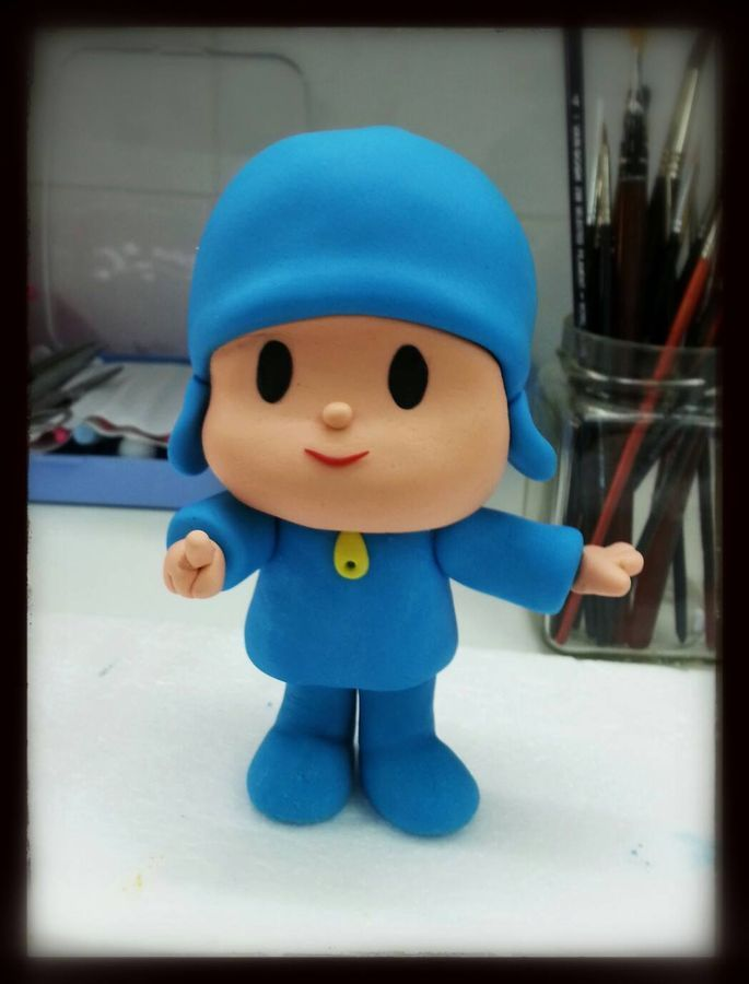 17 Best images about pocoyo on Pinterest | Fondant toppers ...