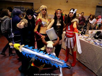 Cose, di Arte: Cosplay marvel girls cosplay