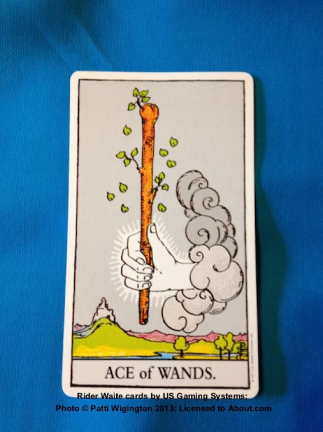 The Suit of Wands - What does the Ace of Wands mean when it appears in Tarot?