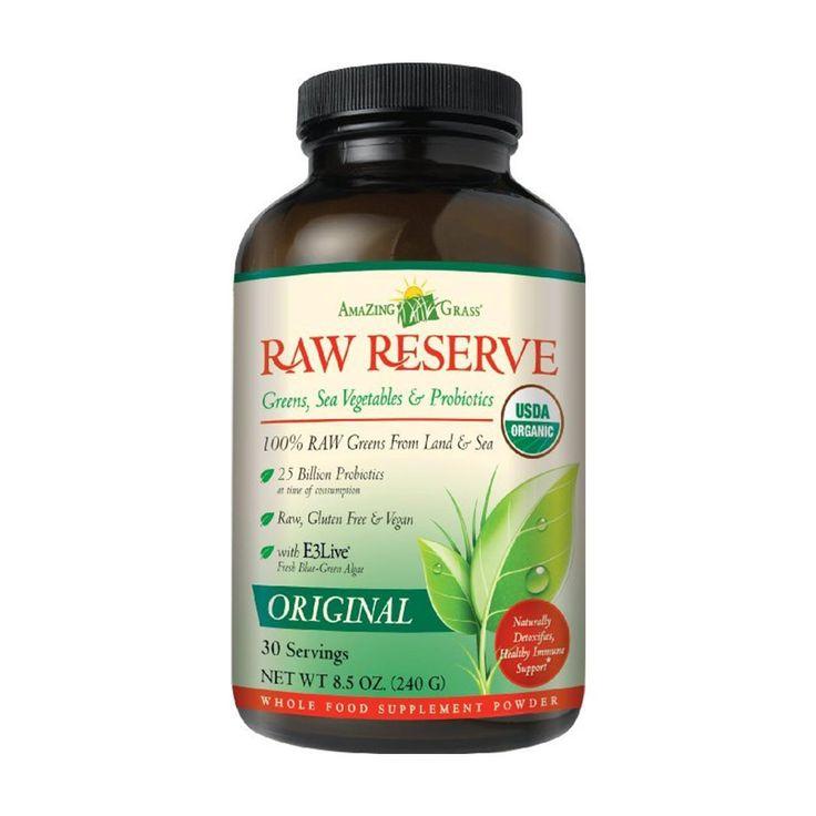 Amazing Grass Green Superfood Raw Reserve 8.5oz