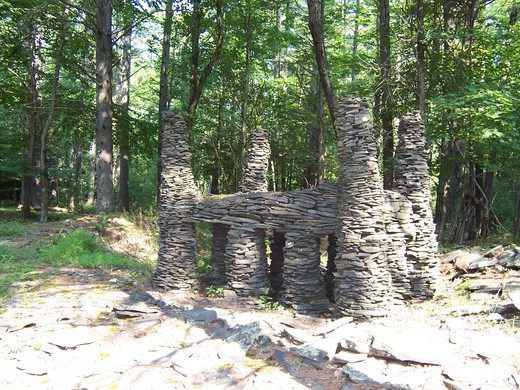 Woodstock School of Art Sculpture Garden – Woodstock, New York - Atlas Obscura