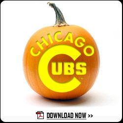 Download Word logo template http://mlb.mlb.com/chc/fan_forum/pumpkin_stencils.jsp?partnerId=aw-5346415589163535500-1023#