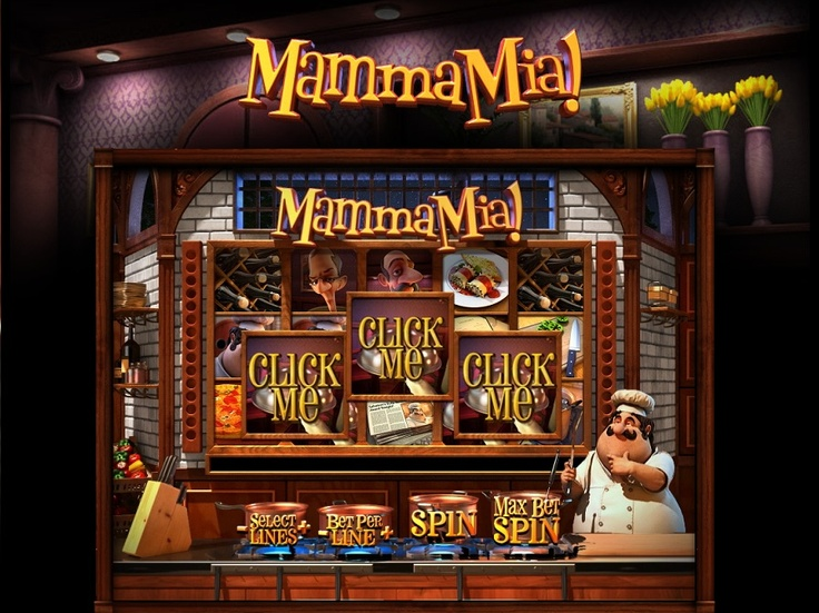 Play the Mamma Mia! 3D video slot game